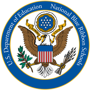 US Dept of Education National Blue Ribbon Schools Seal