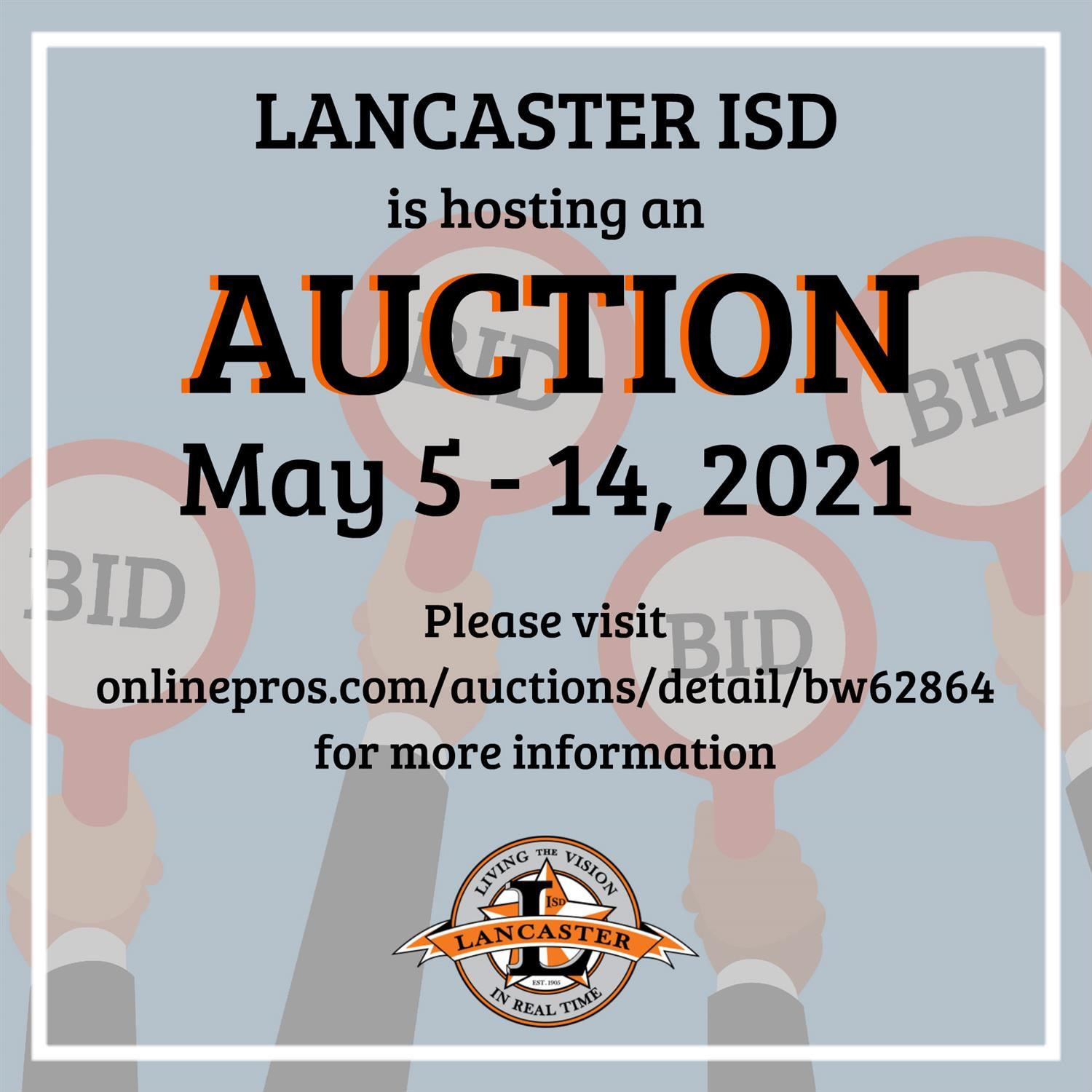 Lancaster ISD Auction