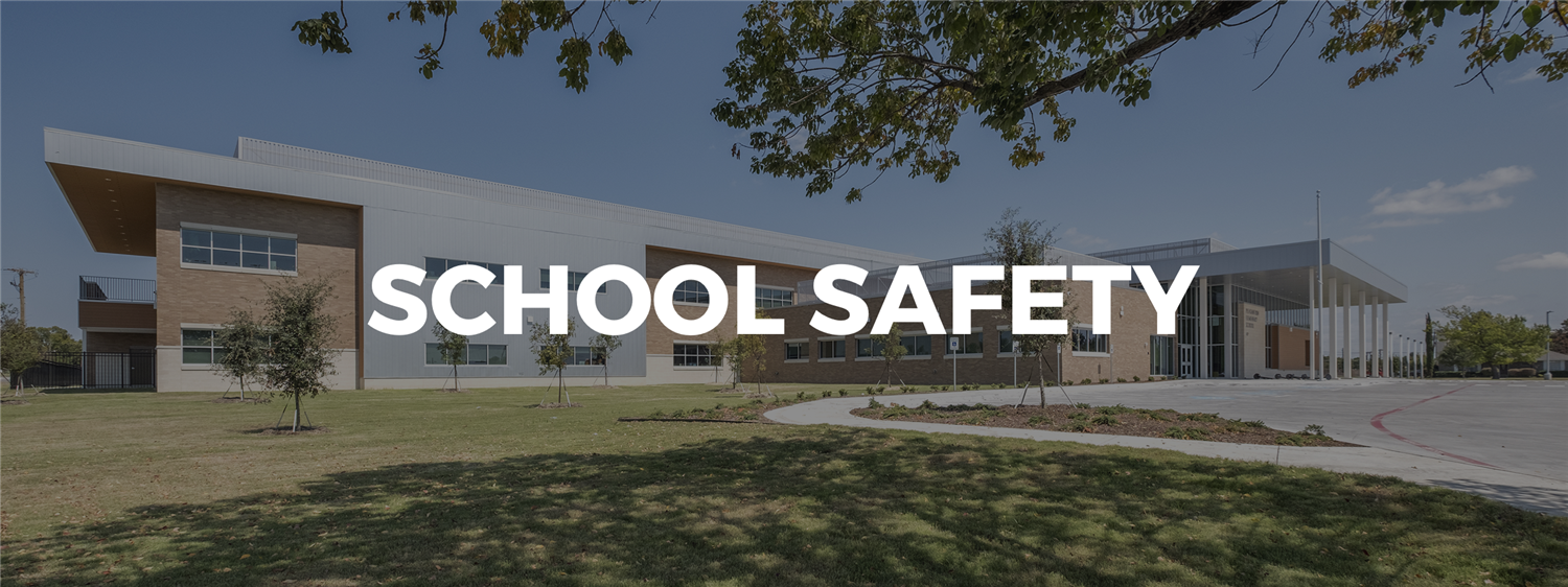 School Safety Banner
