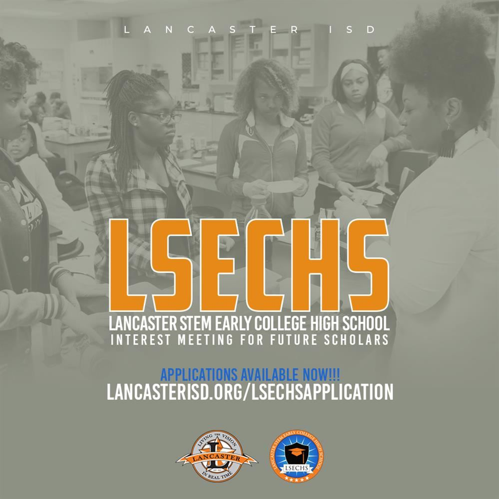Lancaster STEM Early College High School Applications Are Open Now