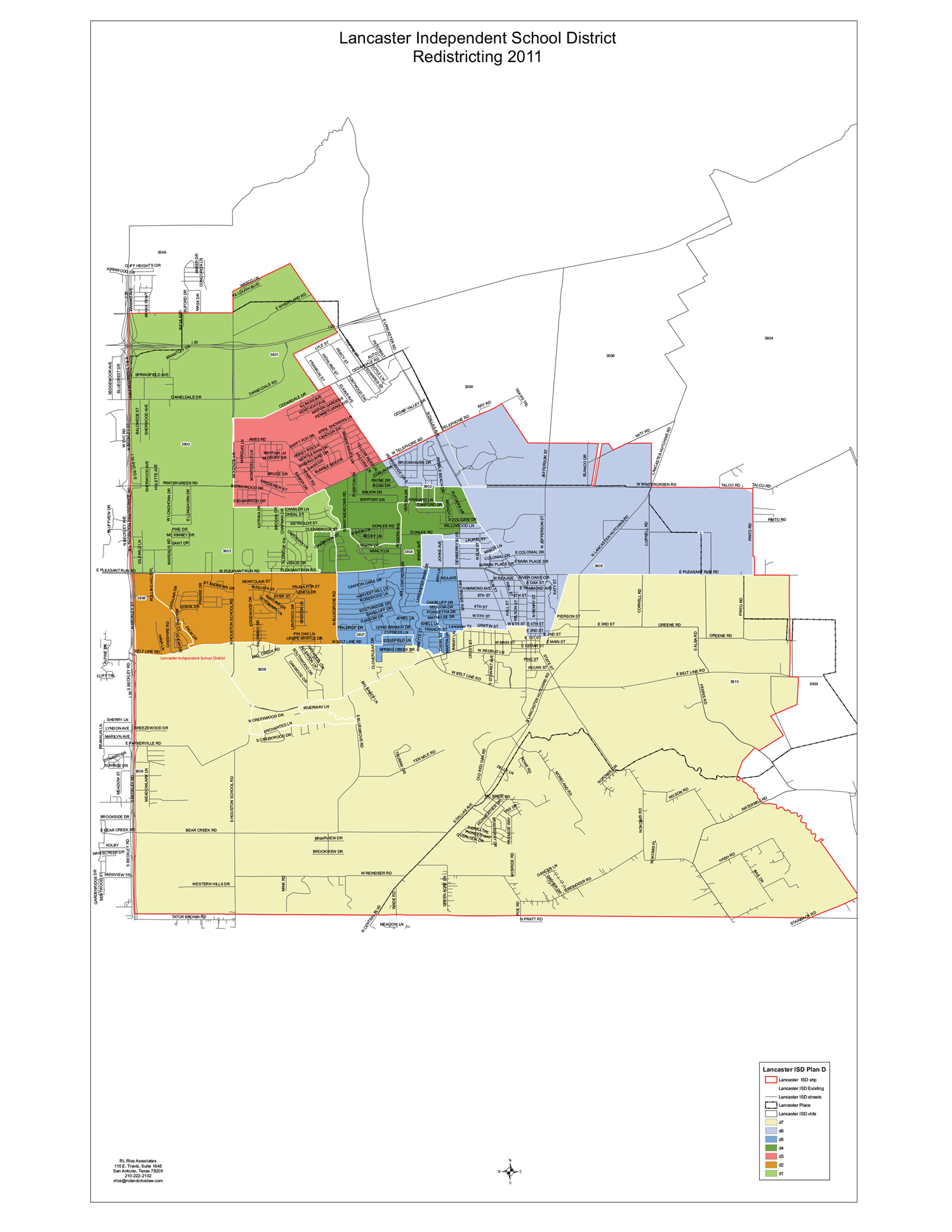 District Zoning Map